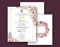 Wedding Invitation for Tanvi & Karteek