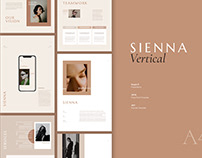 Sienna Vertical Template