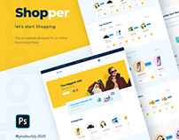 Shopper website concept