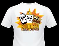 Student Culture Campaign T-Shirt Advert