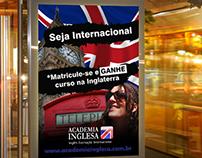 Academia Inglesa campaign