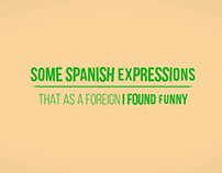 some spanish expressions