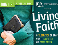 Living Faith Promotional Materials