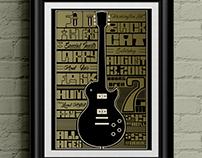 REVISED- Black Cat - Gig Poster