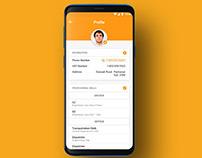 Profile Individual (5 Screens) | UI UX