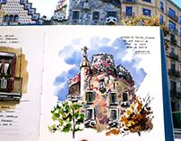 Urban Sketch Barcelona