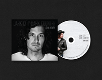 Dark City Dark Country Album Design
