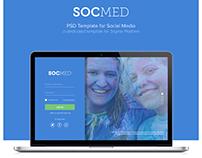 SOCMED : Social Media Template