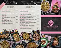 Hilton La Gourmandise menu