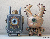 Lemi the Steampunk Space Wanderer and Mr. Green
