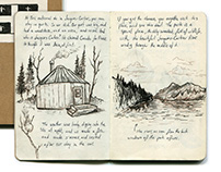 Quebec City Sketch Journal / Travelogue