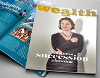 Editorial Design: Wealth Magazine Issue One