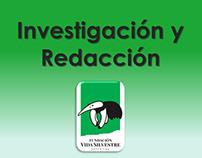 Investigación, análisis y redacción de Informes APs
