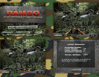 Rambo - The Fight Continues Game