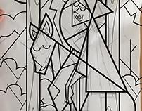 Lineas, Eduvismo Geometrico