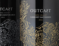 Outcast Wine Label & Packaging