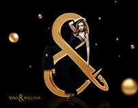 viki & malika | logo