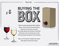 Delicato Family Vineyards Wine Insights Infographics
