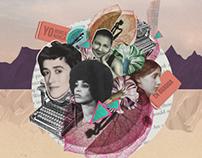 Lapiz de mina, Women theatre festival | illustration