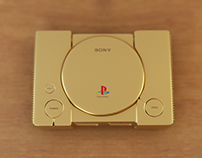 Gold Playstation 1