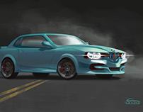 BMW E30 M3 Homage Concept