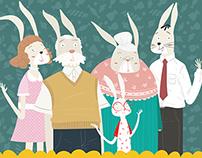 Beyaz Tavşan Blog illustrations