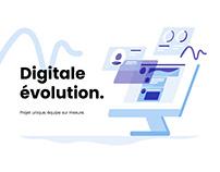 DIGITALE EVOLUTION - Landing Page