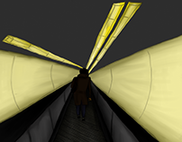 dans un tunnel ...   illustrations, 2016