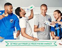Nutrilait - Commandite Impact de Montréal