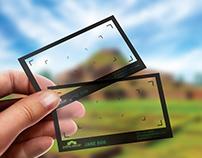 Plastic Business Card