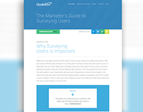 Web // Qualaroo Marketer's Guide