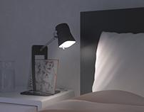 Concept bedside lamp