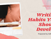 Writing Habits You Should Develop