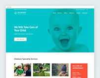 Pediatrician Responsive Website Template  on Behance