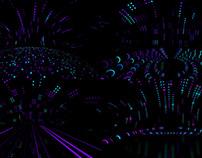 Neon Led Scene - VJ Loop Pack (4in1)