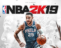 My Poster for NBA 2K19 | Ben Simmons