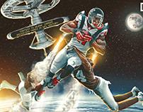 Julio Jones in Space for Bleacher Report