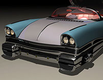 Cygnus I Aircar toy model. Also in Film and Video Game