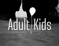 Adult Kids(logo for music band)