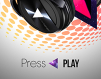 Press Play Headphone Ad