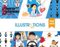 Illustrations Pre-2014