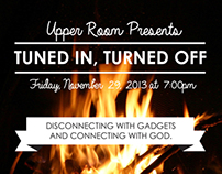 Upper Room Flyer | November 2013