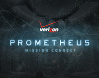 Verizon Prometheus: Mission Connect Sweepstakes Website