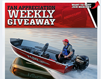 Mercury Marine - Social Media Contest Design