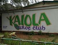Kaiola Canoe Club Mural