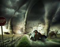 Storm Chasers - Photography, CGI & Retouching