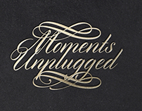 Moments Unplugged | Identity Mock Up