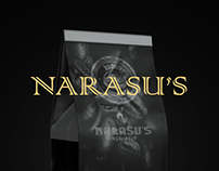 Package design for Narasu's Coffee