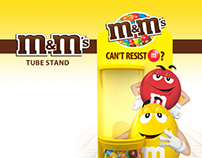 m&m's Tube Stand
