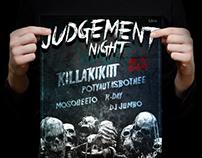 Judgement Night poster design
